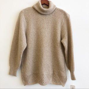 NWT MARISA CHRISTINA Turtleneck Mohair Sweater